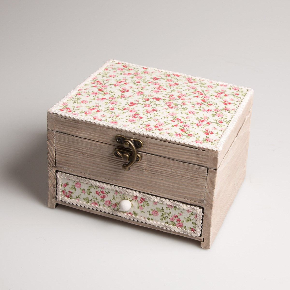 craft boxes for sale, sweet floral wooden boxes for carfts storage or jewellery