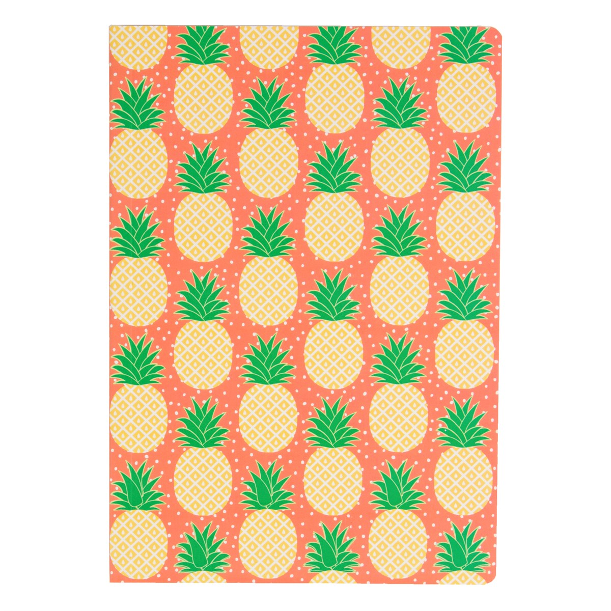 pineapple stationery, tropical gift range and notebooks, the costume rooms bude,