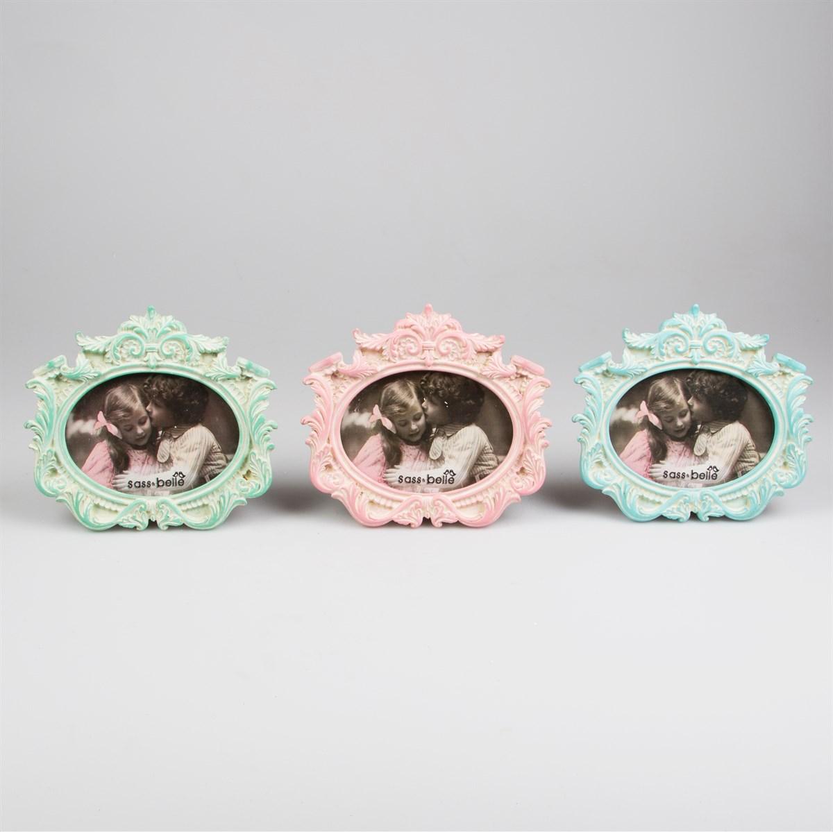 shabby chic photo frames, I want a shabbu chic gift photo frame, roccoco style ornaments, pastel prettiness