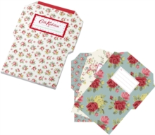 Cath kidston fold and mail letters, vintage style writing sets, floral stationery, stationery shops in cornwall, the csotume rooms bude