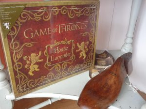 Game of Thrones writing set - Lannister, online game of thrones stockist