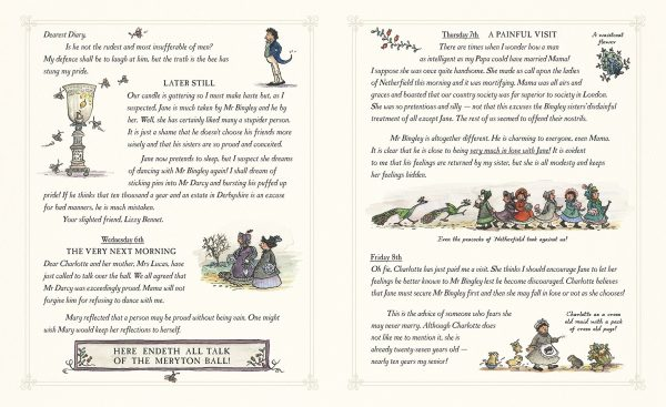 children's pride and prejudice novel - fun illustrated diary by lizzie bennet