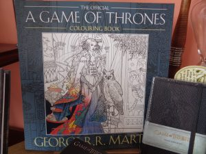 Game of Thrones Colouring Book online, the costume rooms in bude, themed gift shops, game of thrones stockists in cornwall
