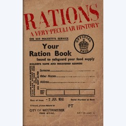 book on rations, fun wartime fact books, a peculiar history of publications, history books online, the costume rooms bude, books in bude