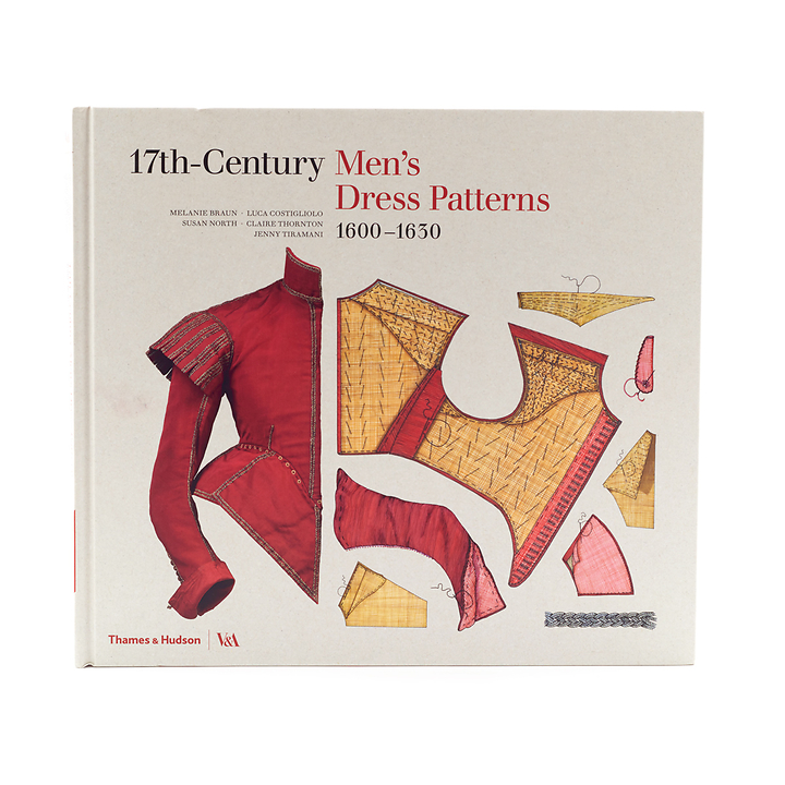 menswear pattern books online, 17th c menswear costume books, studying museum garments books, replica garments 17th c,