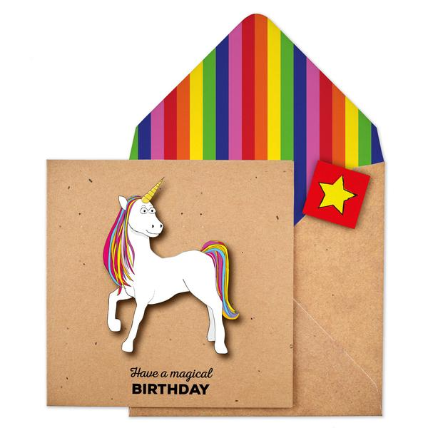 cards online, unicorn cards online, fun enevelopes and cards for sale,