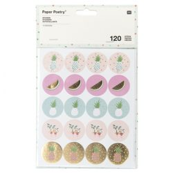 pinepple stickers, the costume rooms pineapple gifts range, where can I get pineapples from in Bude North cornwall, tropical stickers for sale online