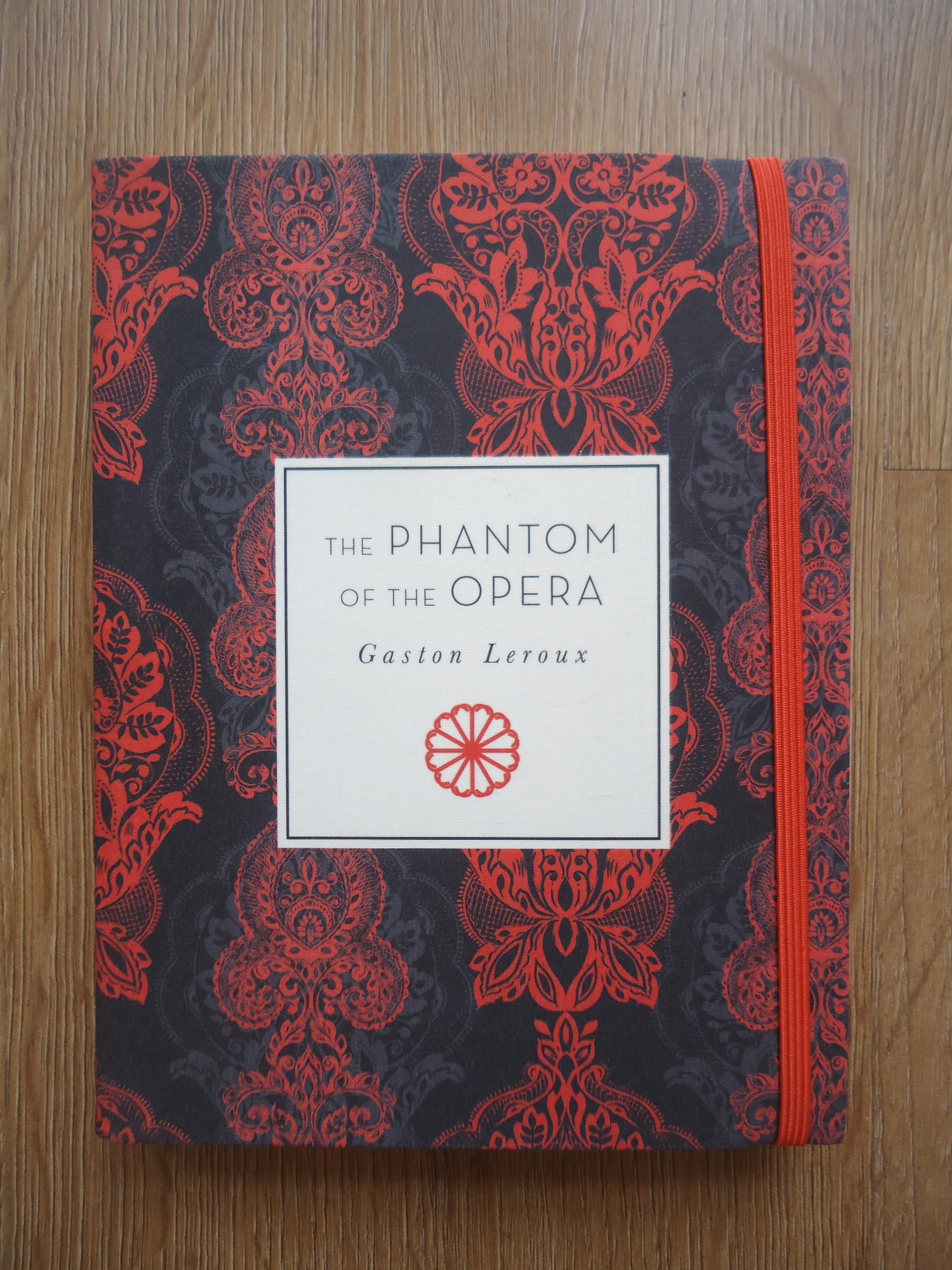 backpack, Phantom, Opera, Phantom of the Opera, Le Fantôme de l'Opéra, classics, novel, period novel, pretty book, special edition, gifts