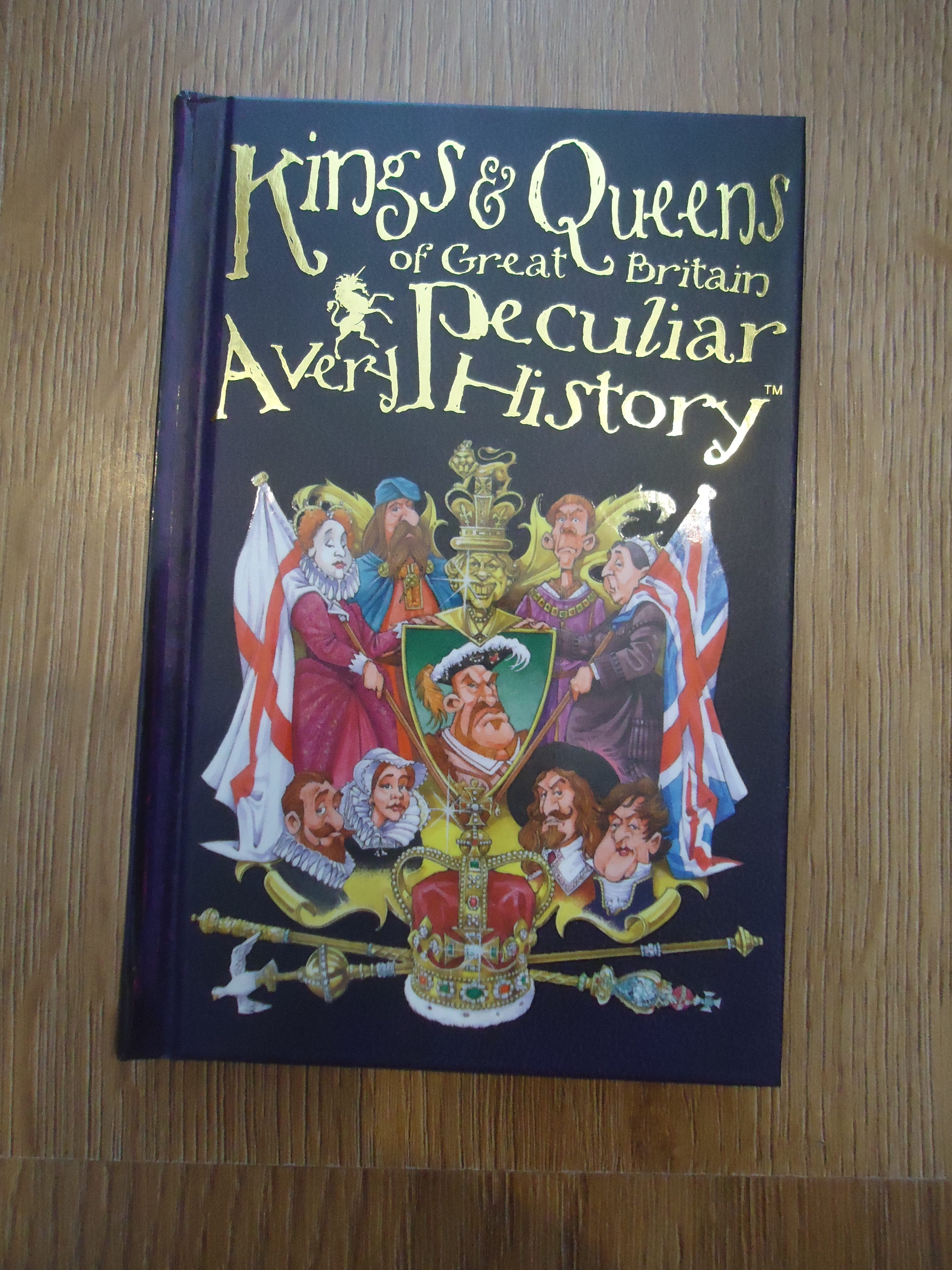 Kings and Queens, History, A very peculiar History, children's books, quirky books, pocket size books