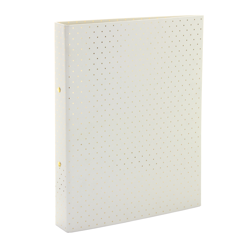 ring binder files - gold spot, gold stationery range, I want a whole collection of gold stationery where can I get it from, go stationery in London