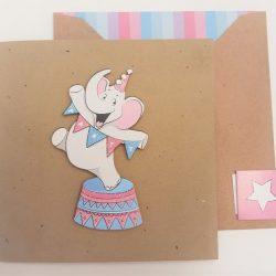 Fun Elephant Glitter - tache