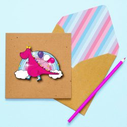 dinosaur cards for children and teenagers