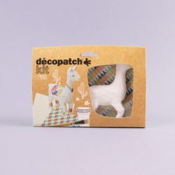 crafty llama decopage set - things to do at home