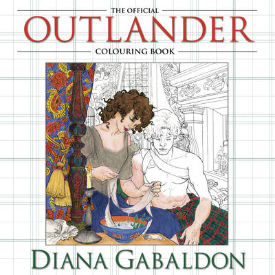 outlander colouring in book - the costume rooms online