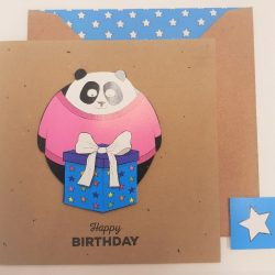 Panda cards - the costume rooms shop in Bude