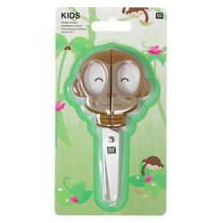 Monkey childrens scissors - online childrens craft ideas