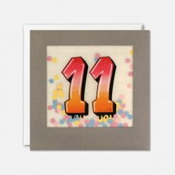 age 11 years ol birthday cards - cards for teens - graffiti designs cards