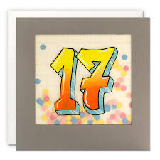 teenager grafitti cards - aged 17 - online cards shops