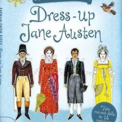 jane austen paper dolls - dress up jane austen book - jane austen fan gift ideas