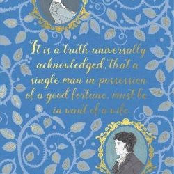 pride and prejudice hardback notebook journal - the Costume Rooms