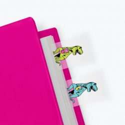 dinosaur T-Rex page markers - dino stationery online