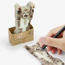 cat sticky notes - stationery lover online shop - cat stationery