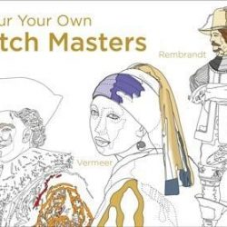 Colour your own Dutch Masters - colouring books online - the costume rooms