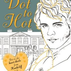 dot to hot colouring book - lliterary characters. Gifts for booklovers online