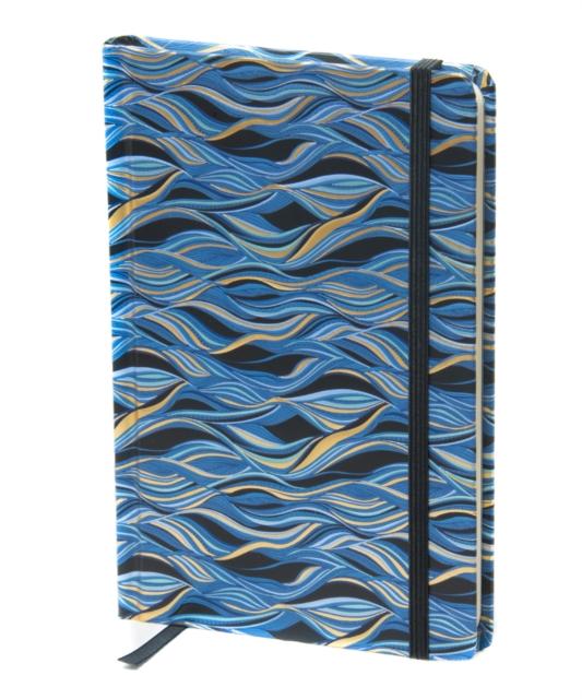 waves patterned notebooks - hardback online stationers