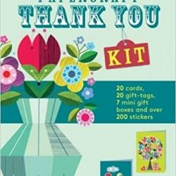 make your own thank you cards - kit in a book