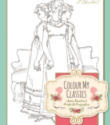 pride and prejudice colouring in books - jane austen shop online