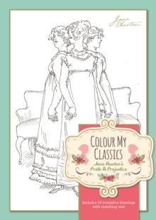 pride and prejudice colouring in books - jane austen shop online