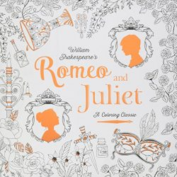 little tiger publishers colouring books - romero and juliet colouring book