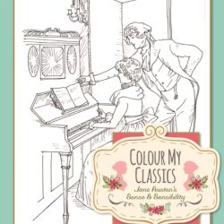sense and sensibility colouring book , jane austen colouring books and gift ideas