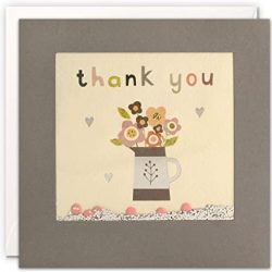 thank you cards - paper shakies - environmentally friendly cards