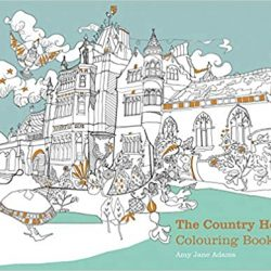 The Country House Colouring Book - Amy Jane Adams - National Trust colouring books online