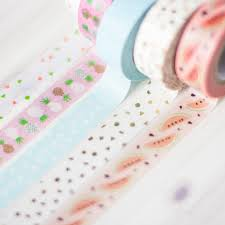 Tropical Washi Tapes online - Paper poetry at the costume rooms