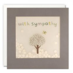 sympathy cards - paper shakies by james ellis