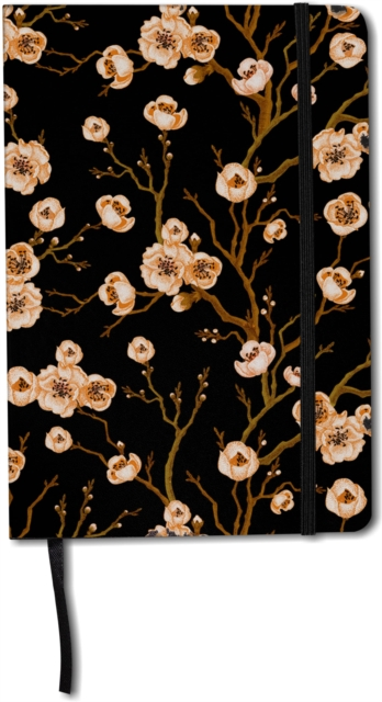 floral hardback journals and notebooks - ruled