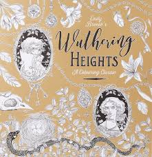 colouring in books classic novels - emily bronte wuthering heights