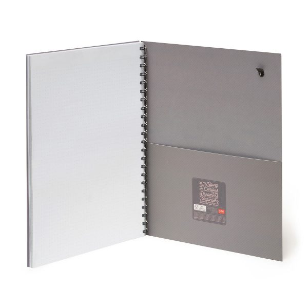 notebook sthat come with a back pocket - nice quality A4 notebooks