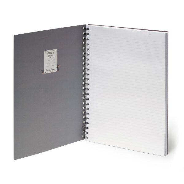 lined squared and dotted A4 notebooks - ringboudn and elastic - stationery online