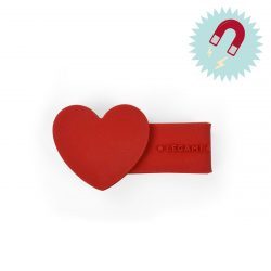 heart shaped cable ties - hart magnetic clips - great gfts for teens