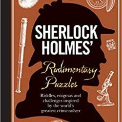 Rudimentary puzzle crime book - sherlock holmes puzzle books