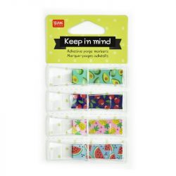Keep In Mind Tropical Fruit Page tabs - stationery fun