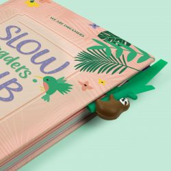 sloth gift ideas - sloth in a book bookmark - howcan I encourage my child to read