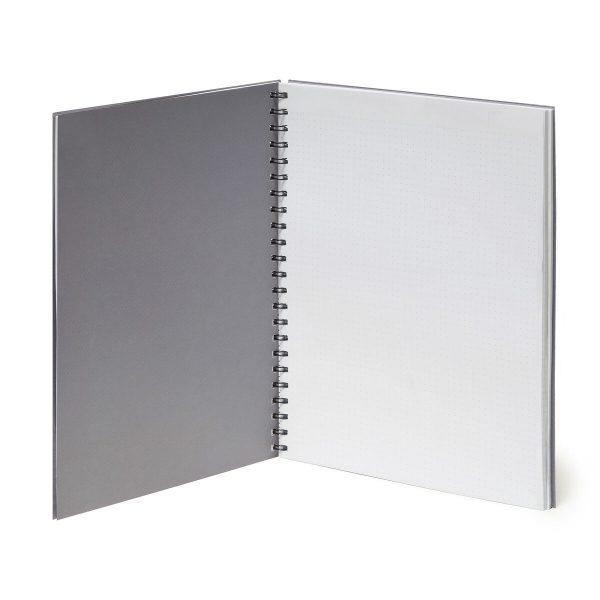i want a notebook that has dotted lined and squared paper