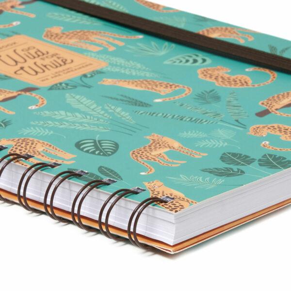 cheetah - big cat - tropical designs notebooks - A4 online