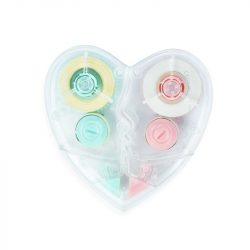 Heart shaped Correction Tape - can you get a cream correction tape
