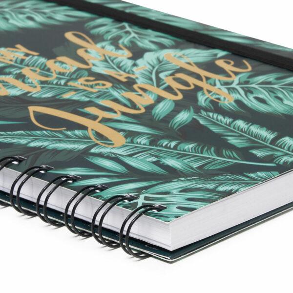 jungle themed notebooks - A4 journals